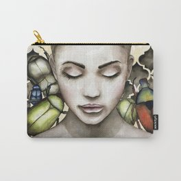 Green beetle Carry-All Pouch