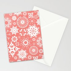 Dia en rosa Stationery Cards