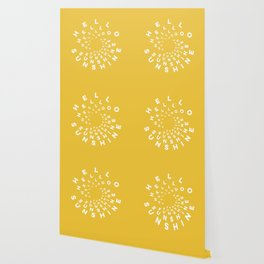 Hello Sunshine #minimal #typography #summervibes Wallpaper