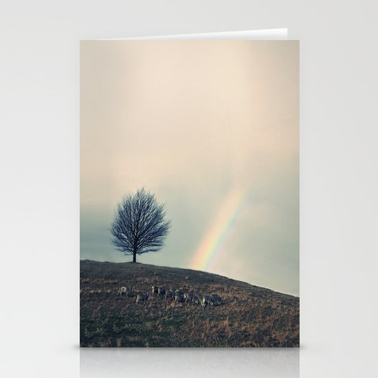 Chasing rainbows and counting sheep. Same thing really. Stationery Cards