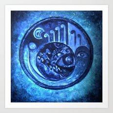 TURQUAZ Art Print