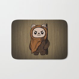 Cartoon Ewok Bath Mat