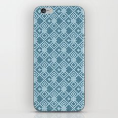 squared pattern iPhone & iPod Skin