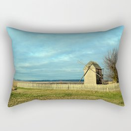 Old mill Rectangular Pillow