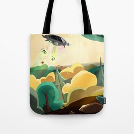 Unknow Planet Tote Bag