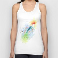 under the sea Tank Tops featuring Under the Sea by Freeminds