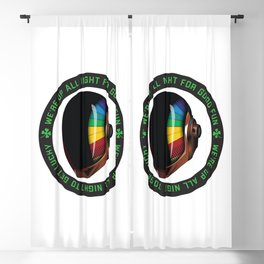 Get lucky Blackout Curtain