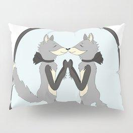 Gray Fox Friends Freddie and Fern Pillow Sham