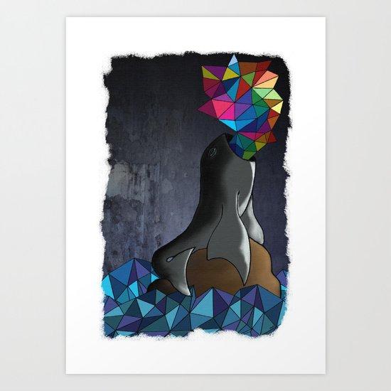 Polylobal Art Print