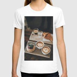 Latte + Pastries T-shirt