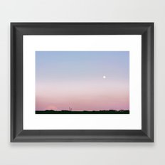 moon come with me Framed Art Print