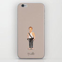 Bruce Willis - Die Hard iPhone Skin
