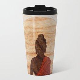 Buddha marquetry Travel Mug