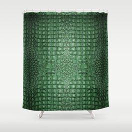 Alligator ...green Shower Curtain