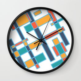 Paris street Wall Clock