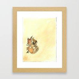 Fall Fairy Framed Art Print