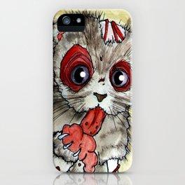 LOL zombie cat iPhone Case