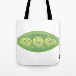 Peas Illustration Tote Bag