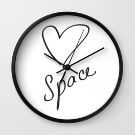 Heartspace - A Higher Frequency Love in 5D Wall Clock