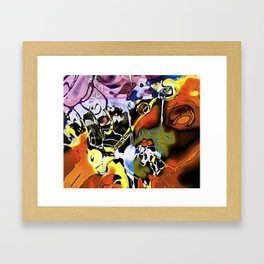 lucid interval Framed Art Print