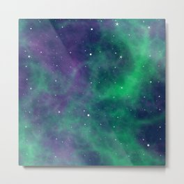 Space Case Metal Print