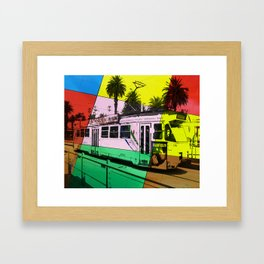 Melbourne Tram Framed Art Print