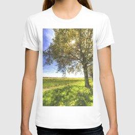 The Daffodil Summer Farm Art T-shirt