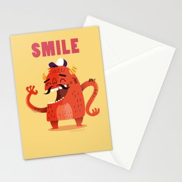:::Smile Monster::: Stationery Cards