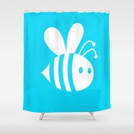 Buzzer Shower Curtain