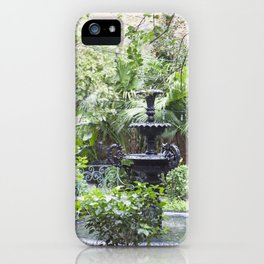 New Orleans Cafe Fountain iPhone Case