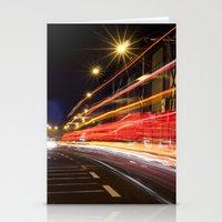dublin Stationery Cards featuring Traffic, Dublin by Jennifer Hynes