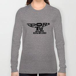 Heavy Weight Language  Long Sleeve T-shirt