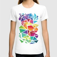 triangles T-shirts featuring Triangles by Veronika