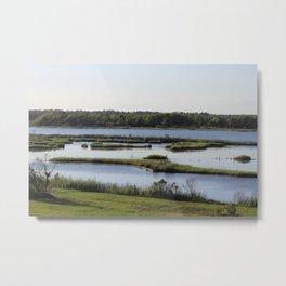 Intercoastal Waterway Metal Print