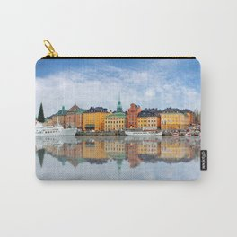 A Panorama of Gamla Stan in Stockholm, Sweden Carry-All Pouch