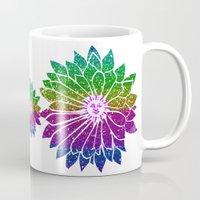 sunflower Mugs featuring SunFlower by haroulita