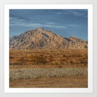 Lone Mountian Art Print