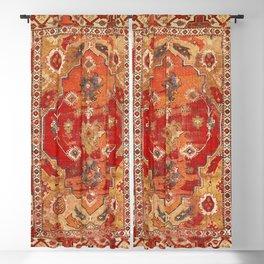 Transylvanian West Anatolian Carpet Print Blackout Curtain