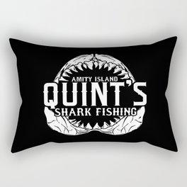 Shark fishing - Amity island Rectangular Pillow