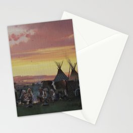 An Old Meeting Place - 1910  Stationery Cards