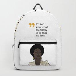 No fear / Nina Simone Backpack