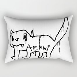 DEMON CAT II Rectangular Pillow