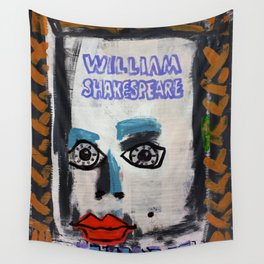 William Shakespeare Elizabeth Wall Tapestry