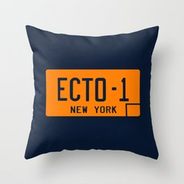 Ecto-1 Throw Pillow