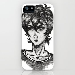 EDGY SPACE BOI iPhone Case