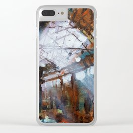 Abandoned Spaces 1 Clear iPhone Case