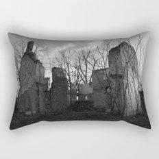 Rural Abandon - Reclaim Rectangular Pillow