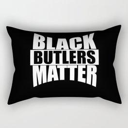 Black BUTLERS Matter gift Black Lives Matter Rectangular Pillow
