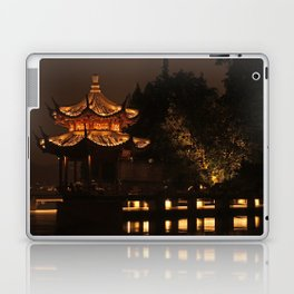 Chinese Pagoda on Lake Laptop & iPad Skin