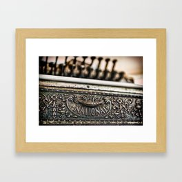 National Cash Framed Art Print